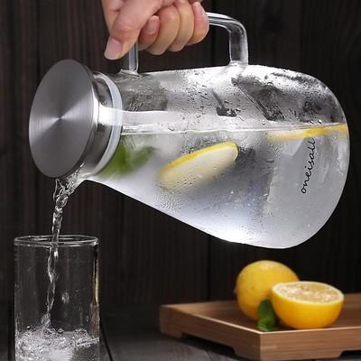 家用冷水壶玻璃耐热高温凉白开水杯扎壶防爆大容量水瓶日式凉茶壶