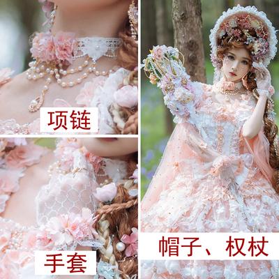 taobao agent Original small hand-made lolita headdress flower wedding bnt BB cap Bonnet flat hat tea party cat department little fairy