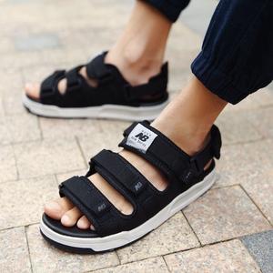 New Bailun Giày Nam Giới Co., Ltd. ủy quyền DCVT NB dép nữ mùa hè Velcro bãi biển thể thao dép nam