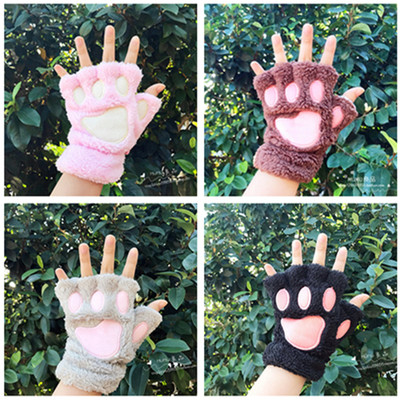 42agent MUMU good products Japanese soft sister cat claw gloves cute cat girls mittens gloves bear palm gloves anime around - Taobao