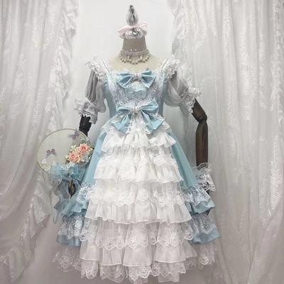 taobao agent 【Full stock】Sugar girl ~ original design Lolita rose love daily flower wedding sp dress