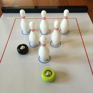 [Bowling pins, số lượng lớn] mini bowling bảng trò chơi bóng đá nghệ thuật bảng bóng đá bảng trò chơi