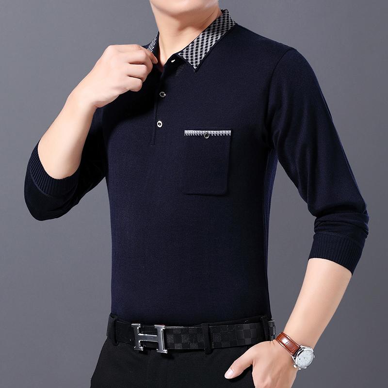 【艺鼠】2020中年男士长袖T恤