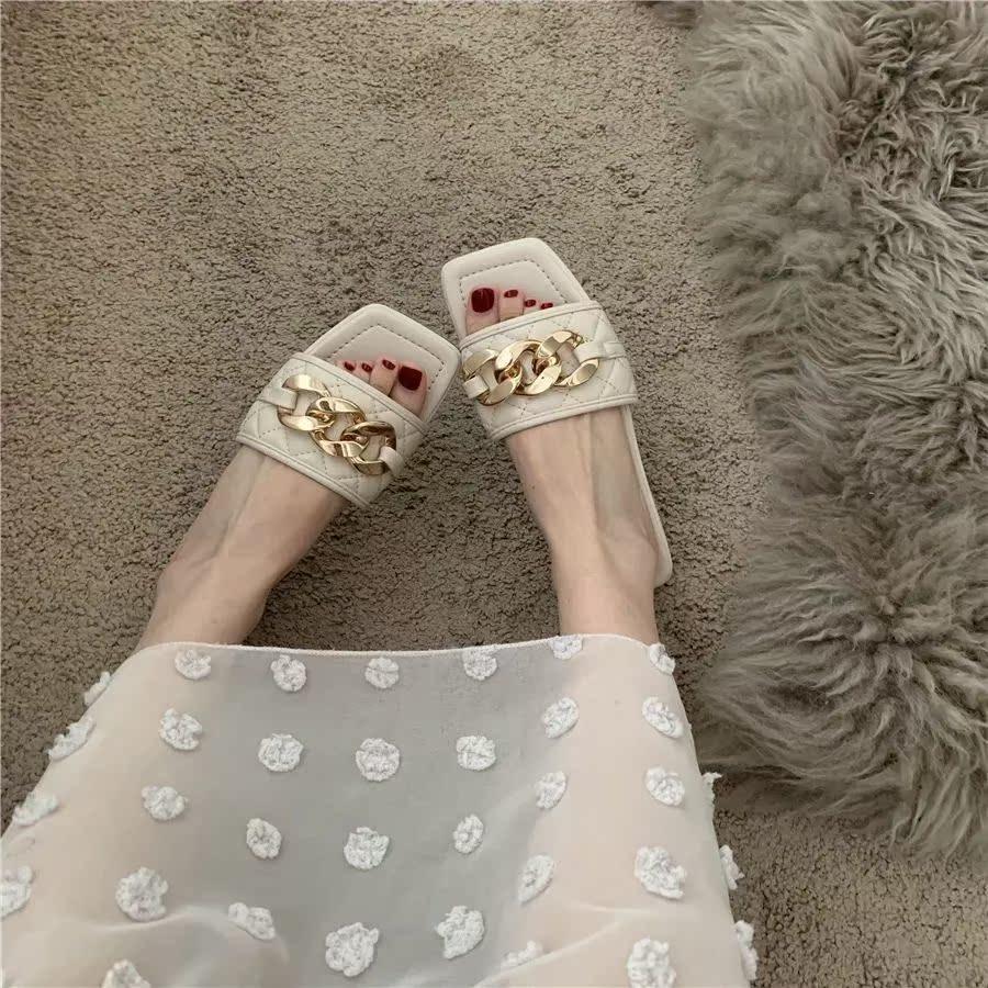 网红凉拖鞋2021新款拖鞋女外穿时尚