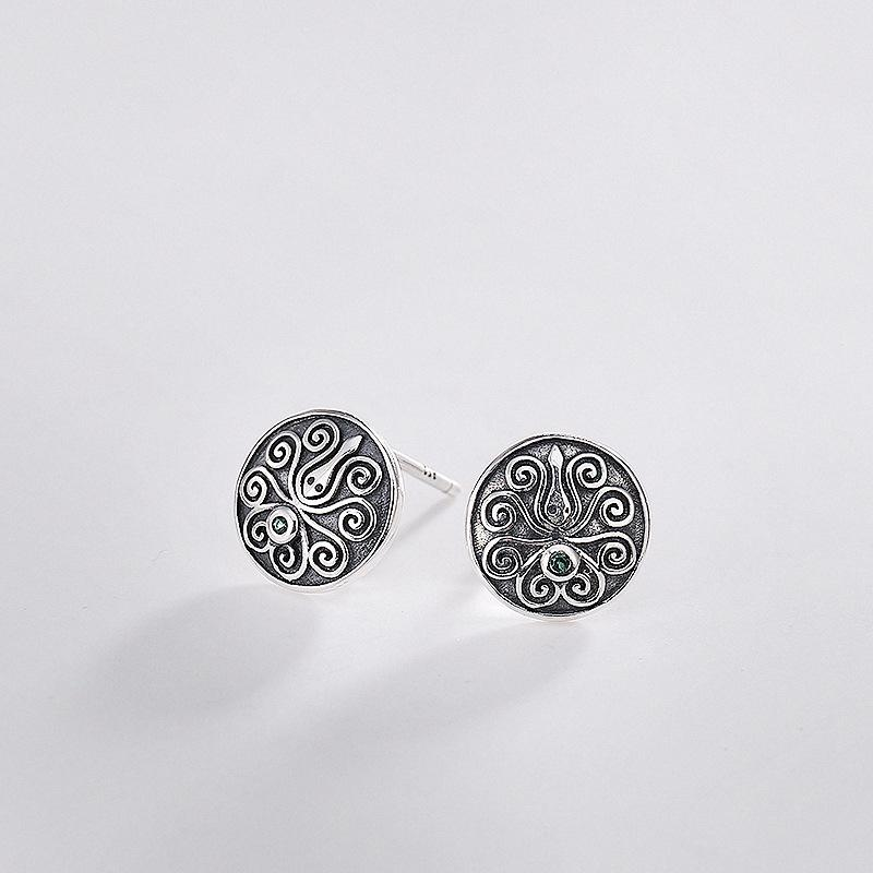 Woman Fashion S925 pure silver earrings J005