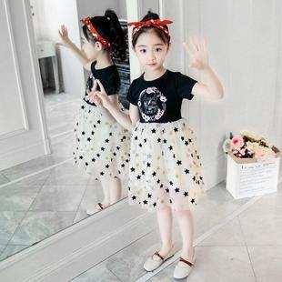夏季女童公主连衣裙宝宝花仙子裙子