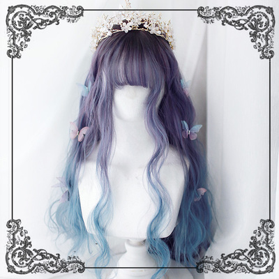 42agent +DREAMHOLIC+55cm hand-rolled long tail curly hair | wig | mermaid Ji - Taobao