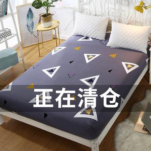 Giường 笠 đơn mảnh nệm bộ Simmons bảo vệ bìa non-slip bụi che giường bìa mỏng nâu pad 1.5 m 1.8 m trải giường
