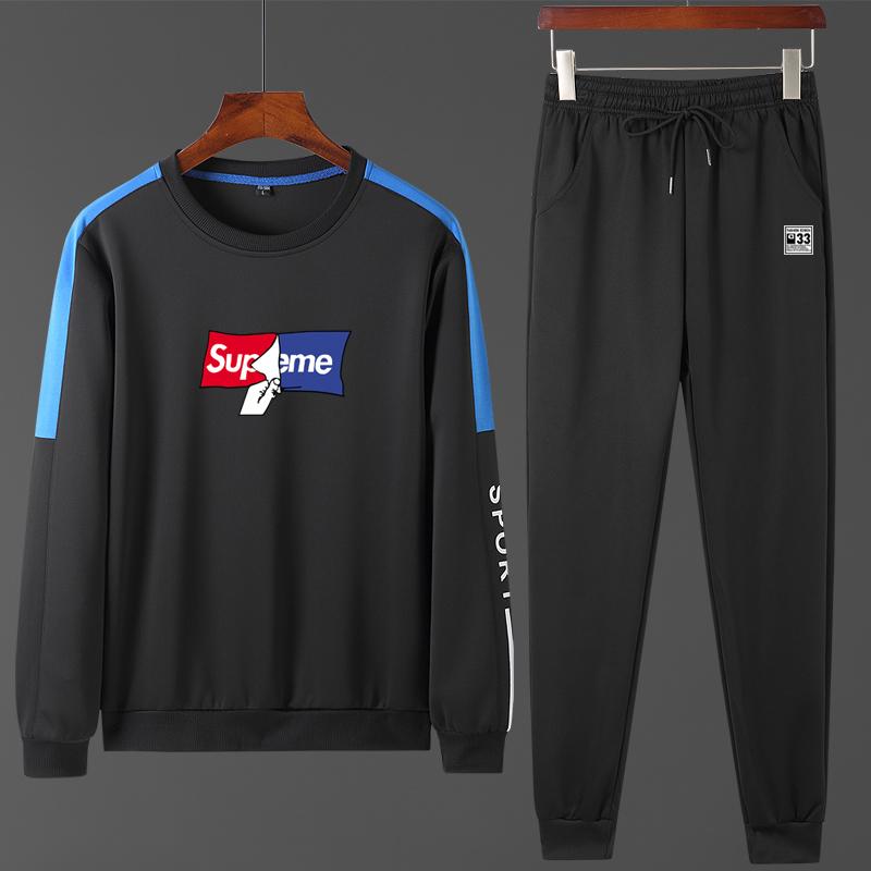 运动卫衣套装男士休闲卫衣运动衣运动服套装