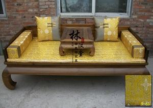 Năm mảnh giường Rohan Rohan nệm pad mat Trung Quốc gỗ hồng mộc nội thất xốp gói pad bằng gói Lotus - Nệm