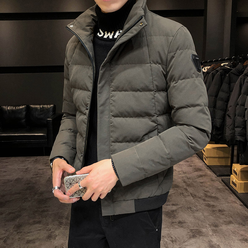 男士外套2019新款韩版潮流面包棉服冬装加厚羽绒棉袄冬季男装棉衣