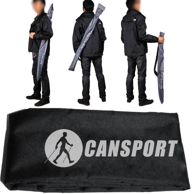 CANSPORT túi lưu trữ Bắc Âu đi bộ dính bộ leo dính túi xách tay cần câu túi Oxford túi vải dính khóa