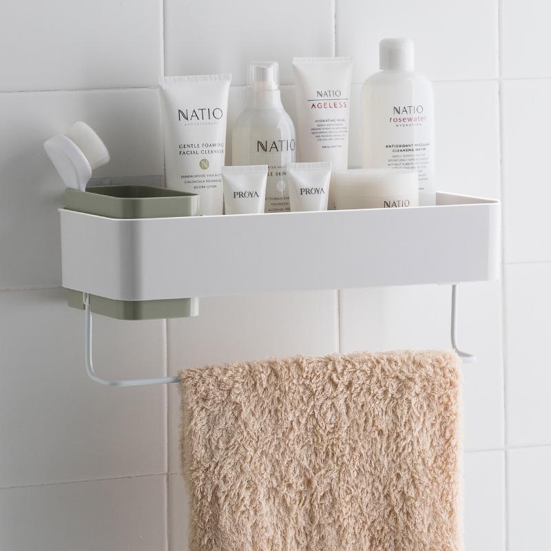 浴室卫生间免打孔置物架收纳