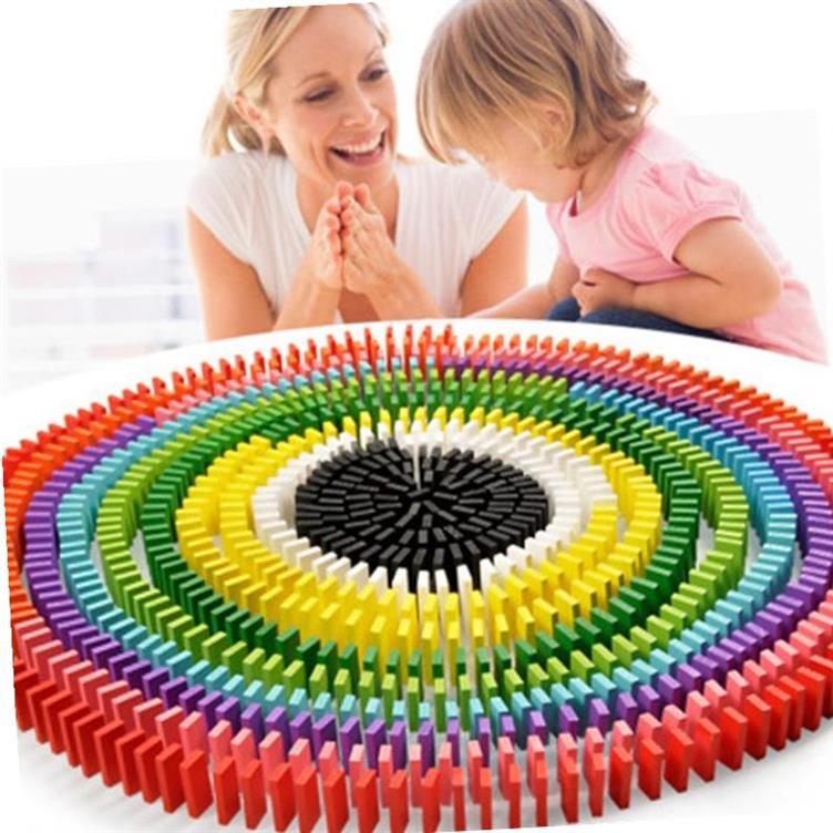 Đồ chơi sáng tạo màu sắc khôn ngoan trưởng thành bé trai trẻ sơ sinh bé gái máy tính để bàn mẫu giáo đề nghị xây dựng khối. - Khối xây dựng