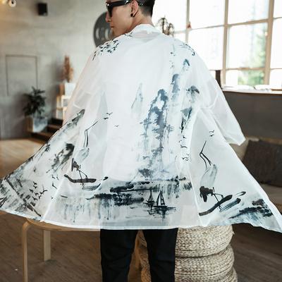 Trung Quốc tang phù hợp với cải thiện hanfu Trung Quốc phong cách quần áo của nam giới áo choàng áo khoác trang phục kem chống nắng áo gió mùa hè áo choàng áo choàng Áo gió