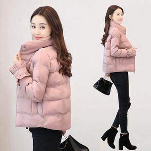 新款外套女冬季短款加厚羽绒棉服面包服
