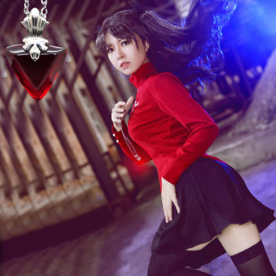 taobao agent Fate Guardian Night cosplay Tosaka Rin cos suit customized spot
