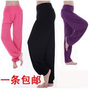 Yoga quần áo mùa xuân và mùa hè yoga quần phương thức Lantern quần yoga quần khiêu vũ quần phụ nữ chạy kích thước lớn quần thể dục