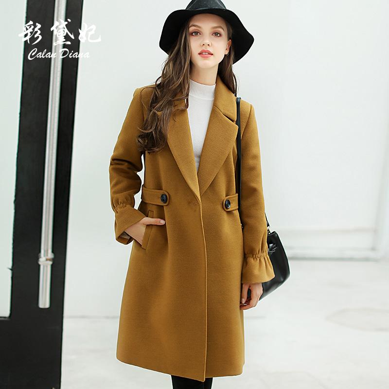 2018 mùa xuân và mùa thu mới của Hàn Quốc phụ nữ dày áo len nữ mỏng kích thước lớn phần dài áo len thủy triều
