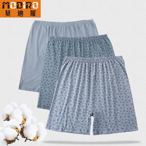 Trung niên và người đàn ông tuổi của đồ lót cotton loose boxer quần cộng với phân bón để tăng cao eo quần short nam già của cha quần
