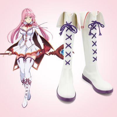 taobao agent Reply to Warlock's restart life Freya cos performance shoes Game anime Cosplay boots customization
