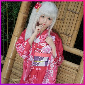 Eromana em gái của tôi là Huang Man khiêu dâm truyện tranh giáo viên và mùa xuân sợi sương mù cos kimono áo choàng tắm cosplay