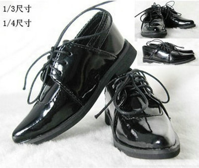 taobao agent 1/3 BJD/SD humanoid doll doll shoes DOD LUTS DZ 3 points 4 points lace up suit leather shoes-YG02