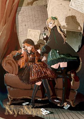 taobao agent Royal card series summary NyaNya original Lolita dress