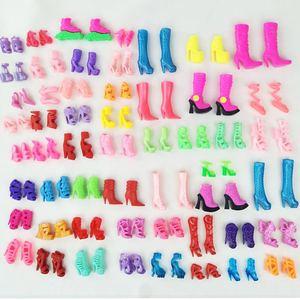 Đặc biệt cung cấp giày Barbie cao gót Công Chúa home pha lê giày trẻ em chơi nhà đồ chơi phụ kiện