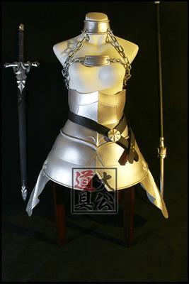 taobao agent 【Duke props】Fate Go Joan of Arc three-broken armor cos custom-made props