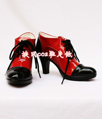 taobao agent Black Butler Greer Sutcliffe COSPLAY shoes COS shoes customized with pictures