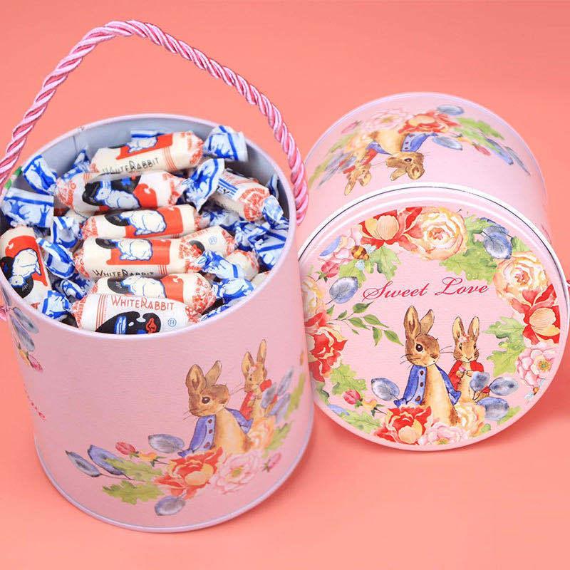 大白兔奶糖礼盒装生日礼物送女友糖果