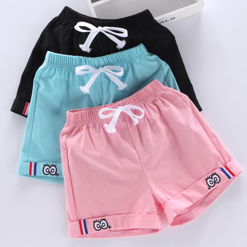 Cô gái quần short mùa hè 2018 new big trẻ em thể thao quần âu mặc trẻ em của hot quần cô gái quần phần mỏng