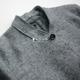 Vertebrate Men của Len Retro Trung Bình Dài Coat Nhật Bản Phong Cách Nguyên Cạnh Casual Dài Áo Khoác Áo len