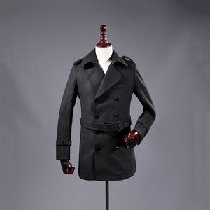 49 nhân dân tệ để cung cấp cho bạn một chiếc áo khoác! Mùa đông người đàn ông mới của thời trang giản dị màu áo len dài nam