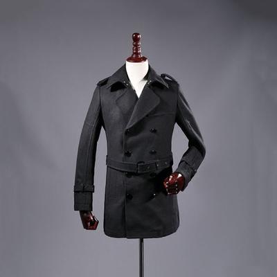 49 nhân dân tệ để cung cấp cho bạn một chiếc áo khoác! Mùa đông người đàn ông mới của thời trang giản dị màu áo len dài nam Áo len