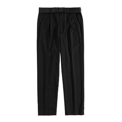 ITSCLIMAX ánh sáng mùa hè và lỏng lẻo chín điểm xếp li phù hợp với quần treo lên quần tây giản dị với vành đai Suit phù hợp