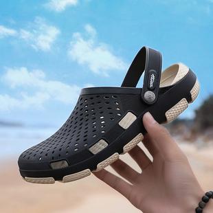 软底潮流包头潮流沙滩鞋