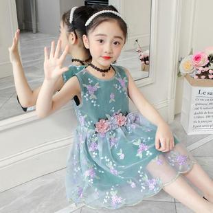 童装夏装女童连衣裙儿童公主裙