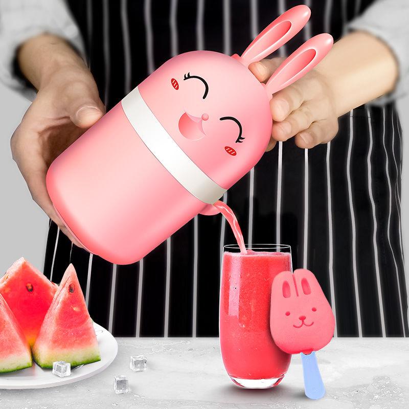 榨汁□机多功能家用小型迷你学生便携炸果机榨汁杯果汁机压汁器