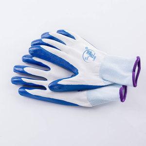 【正品2-12双】带胶橡胶工地胶手套加厚胶皮工作劳保手套耐磨