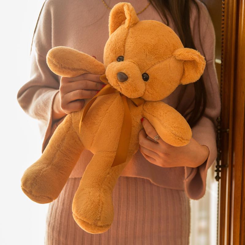 Teddy gấu đồ chơi sang trọng giữ gối ngủ búp bê ôm gấu rag búp bê dễ thương cô gái dễ thương Hàn Quốc - Đồ chơi mềm