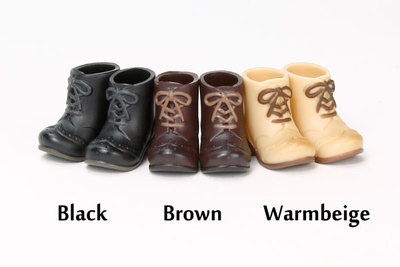 taobao agent [OB]11cm booties with magnet at the bottom 6 colors available [11SH-F005] Obitsu from Japan