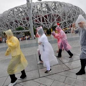 Dùng một lần áo mưa di động dày du lịch du lịch áo mưa mưa quần đặt với ngoài trời đi bộ đường dài cưỡi poncho phổ