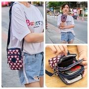 Niu Niu mùa hè túi nhỏ 2018 mới trên mới thời trang nhỏ túi Messenger điện thoại di động vai đa năng túi vải mẹ