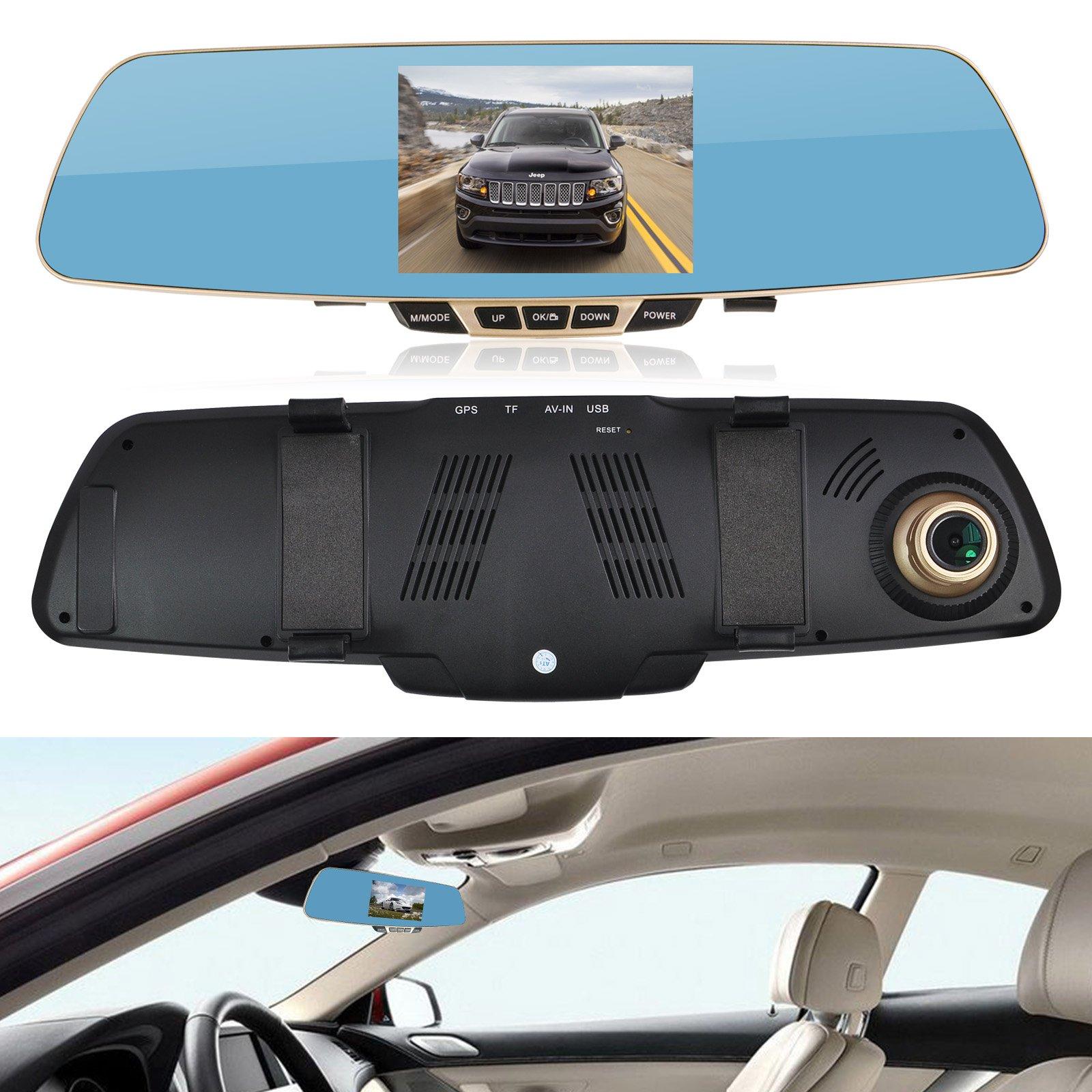 Зеркало-видеорегистратор Car DVRs Mirror в Кокшетау