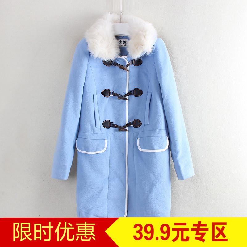 Red loạt thương hiệu giảm giá cắt nhãn mùa đông phụ nữ mới của Hàn Quốc thời trang nữ tính khí áo len C5934