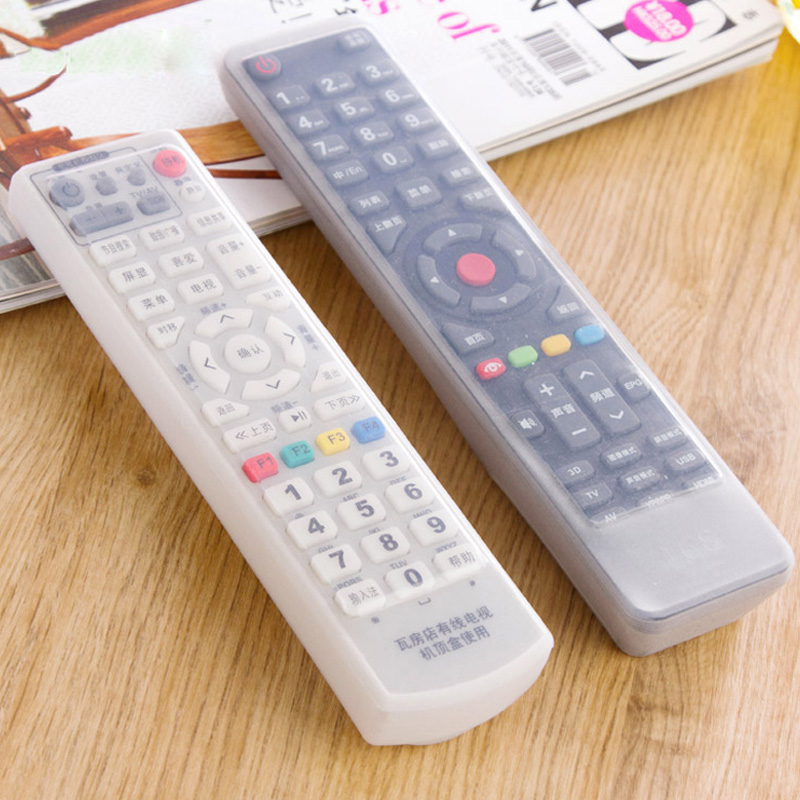 Qiao nhà điều hòa không khí TV điều khiển từ xa đặt silicone điều khiển từ xa bảo vệ bìa bụi che điều khiển từ xa không thấm nước điều khiển từ xa ...