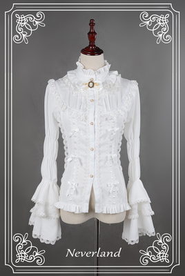 taobao agent There is a time limit, Xing Fu Song exclusive design Dracula gothic lolita stand collar sleeve shirt