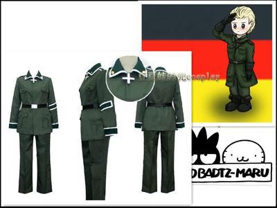 taobao agent Cosplay anime APH Hetalia anthropomorphic German Ludwig military uniform original free shipping customization